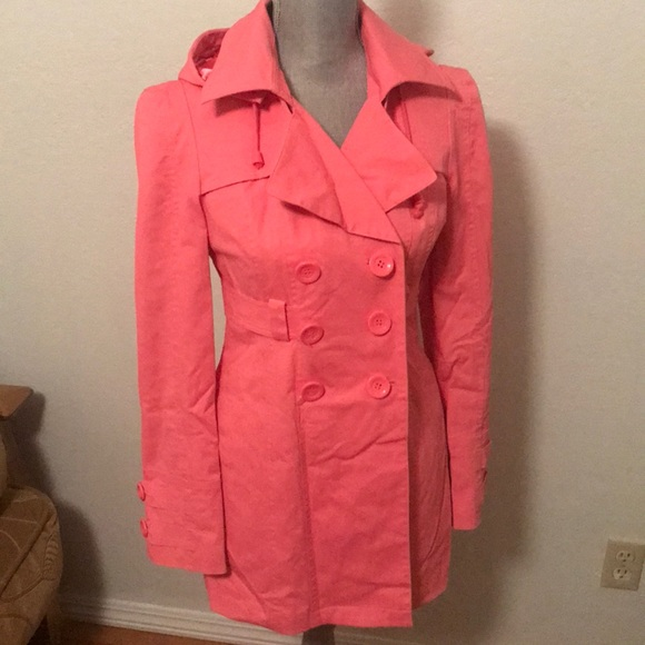 New York & Company rain jacket